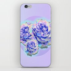 cyber_flowerz iPhone & iPod Skin