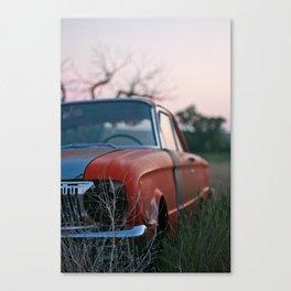 old car. Canvas Print
