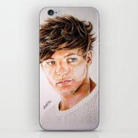 louis iPhone & iPod Skins featuring Louis  by Drawpassionn
