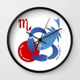 Scorpio -  Scorpion Wall Clock