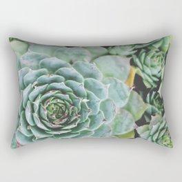 Succulents I Rectangular Pillow