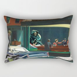 A Night Out On The River Styx Rectangular Pillow