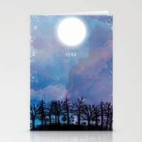 luna Stationery Cards featuring Luna by Jo Cheung Illustration