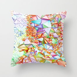 City of Glass Throw Pillow