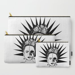 Two Face Frida Carry-All Pouch