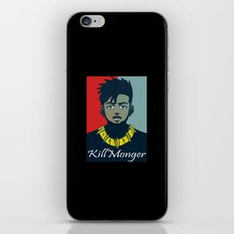 Kilmonger iPhone Skin