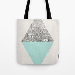 a faded tumult Tote Bag