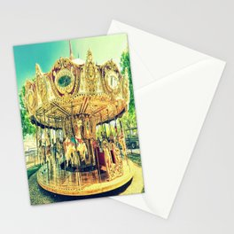 Carousel Merry-Go-Round Stationery Cards