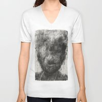 silence of the lambs V-neck T-shirts featuring Silence by faris osaimi