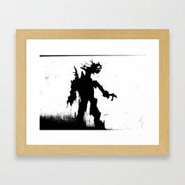 Screaming Ent Framed Art Print