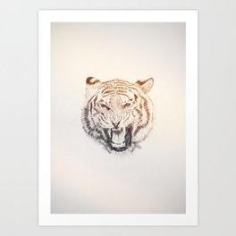 Timmy the Tiger Art Print