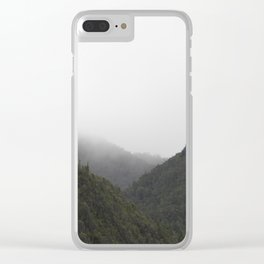 The Misty Mountains Call Clear iPhone Case