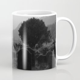 Foggy Graveyard... | Halloween Art | Coffee Mug