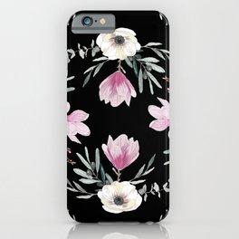 Magnolias, Eucalyptus & Anemones iPhone Case