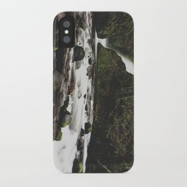 Lower Bridal falls iPhone Case