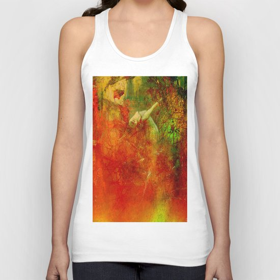 The clearing of the elfs Unisex Tank Top