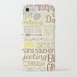 Teapography iPhone Case