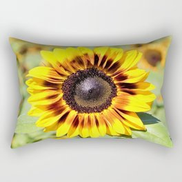 Sunflower in the Meadow by Reay of Light Rectangular Pillow