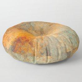 Stone Texture 1A Floor Pillow