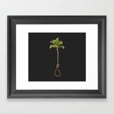 Noose Tree Framed Art Print