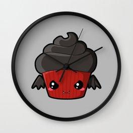 Spooky Cupcake - Vampire Wall Clock