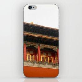 Forbidden City Building iPhone Skin