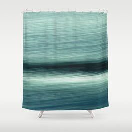 Abstract Waves ICM Shower Curtain