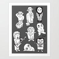 everyday heroes   version Art Print