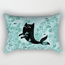 Undersea (Mint Remix) Rectangular Pillow