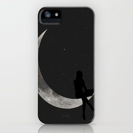 MOON SILHOUETTE iPhone Case