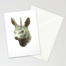 Goat Thing Guy Creature Buddy Stationery Cards