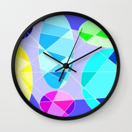Color ludens 2 Wall Clock