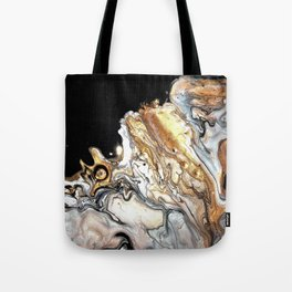 Silver clouds Tote Bag