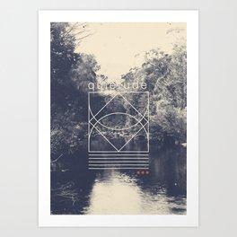 Quietude Art Print