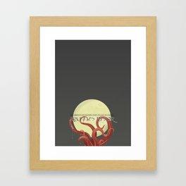 Arkhams Razor Framed Art Print