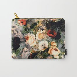 Floral Pattern RPE120 Carry-All Pouch