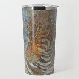 Taxidermy zebra head Travel Mug