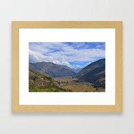 Le belvedere Framed Art Print