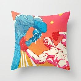 Knockout Throw Pillow