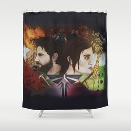 Last Of Us Shower Curtain