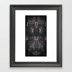 city chandelier Framed Art Print