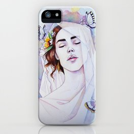 Lady with the Veil iPhone Case