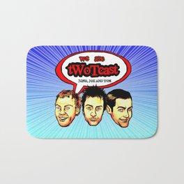tWoTcast Bath Mat