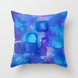 Disco Lights Throw Pillow