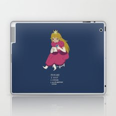 peach t0-do-list Laptop & iPad Skin