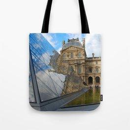 Glass, water, sky Tote Bag