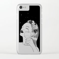 Cheers for tears Clear iPhone Case