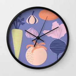 Veggie Love Wall Clock