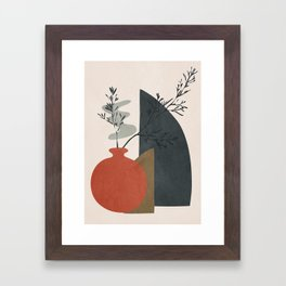 Abstract Elements 12 Framed Art Print