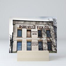 Asheville Fish Co. Mini Art Print